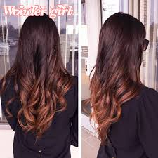 Black To Brown Ombre Hair Extensions by Malaysian Virgin Hair Body Wave 3pcs Black And Burgundy Ombre Hair
