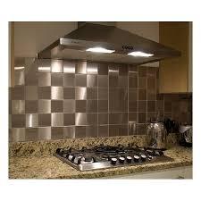 plaque inox cuisine carrelage inox regular 98 credence de cuisine tooshopping com