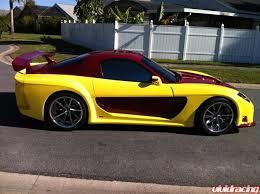 Veilside Rx7 Interior Vivid Racing News Uniquely Colored Veilside Widebody Mazda Rx7