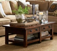 coffee table pottery barn hyde coffee table home design ideas and