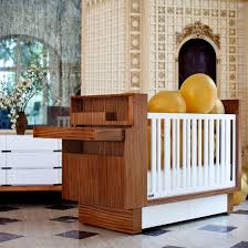 Nurseryworks Changing Table Nurseryworks Studio Crib With Built In Changing Table And
