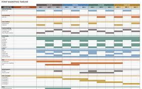event schedule template create a comprehensive marketing timeline
