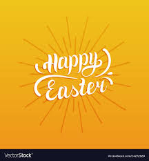 easter greeting cards religious happy easter type greeting card religious vector image