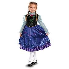 Elsa Halloween Costume Girls Princess Anna U0026 Elsa Halloween Costumes