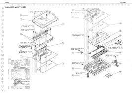 roland cr 80 service manual parts catalog schematic