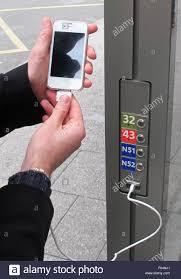 Smartphone Charging Station Charging Station Electronics Stock Photos U0026 Charging Station