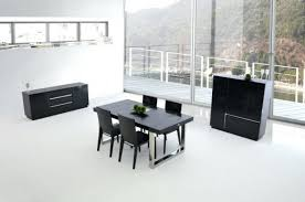 dining table cool lacquer dining table and decor ideas black