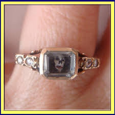 restoration of antique jewelery mourning ring circa 1680 the jewels mourning
