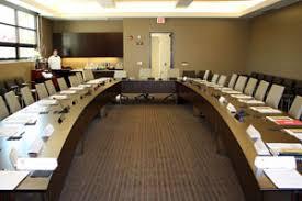 U Shaped Boardroom Table Tour The New Alumni Center Newscenter Sdsu