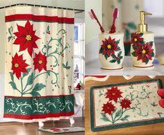 Christmas Bathroom Decor Walmart by Christmas Santa Printed Bath Waterproof Shower Curtain Bath