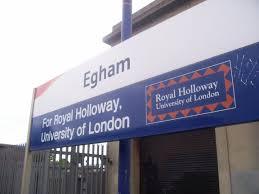 Egham railway station