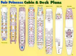 house plan princess ships deck unbelievable sitrmar cruises tss