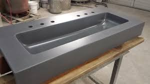 cabinet trough kitchen sink trough double basin rectangular