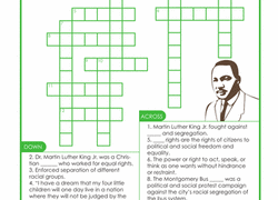 martin luther king worksheets u0026 free printables education com