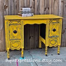 yellow vintage desk navy vanity bedroom furniture tv stand