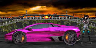 lamborghini purple lamborghini gallardo purple by scifilicious on deviantart