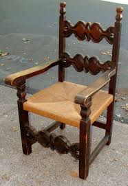 Spanish Colonial Furniture by Pair Of Spanish Colonial Style Chairs At 1stdibs