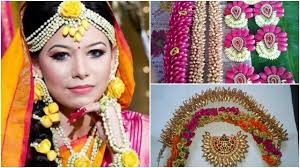 flower jewellery bridal fresh flower jewellery design