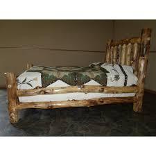 Mission Style Bedroom Furniture Sets Rustic Aspen Log Complete Bedroom Set