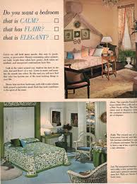Retro 60s Bedroom Ideas 1960s Decorating Style 16 Pages Of Painting Ideas From 1969