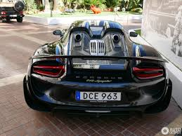 porsche 918 spyder porsche 918 spyder weissach package 28 july 2017 autogespot