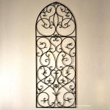 garden wall decor wrought iron u2013 home design and decorating