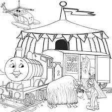 thomas tank engine coloring pages kids coloring