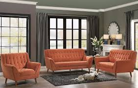 Orange Living Room Set Erath Orange Living Room Set From Homelegance Coleman Furniture