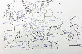 european countries on a map americans were asked to place european countries on a map here s