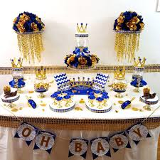 prince baby shower decorations royal prince baby shower candy buffet centerpiece oh baby