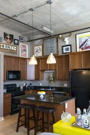 Decorating Ideas For Above Kitchen Cabinets Kitchen Cabinets Fake Plants Above Kitchen Cabinets Gibbs After1