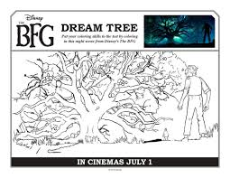 free coloring pages and activity sheets from disney u0027s the bfg