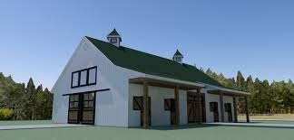 two story barn house equestrian living quarters
