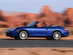 blue porsche 911 2003 porsche 911 carrera cabriolet blue side speed 1024x768