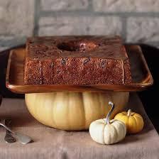 chunk pumpkin cake
