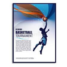 basketball c brochure template basketball illustration player sport concept poster flyer