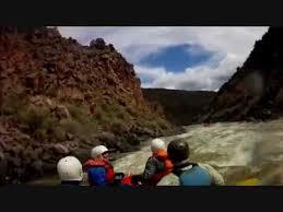 white water rafting taos box youtube