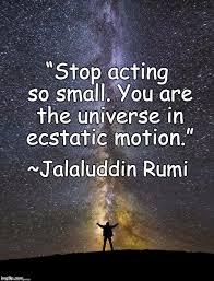 Rumi Memes - universe meme generator imgflip