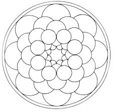 mandala to color patterns geometric 6 mandalas with geometric