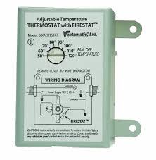 ventamatic xxfirestat 10 inside attic fan thermostat wiring