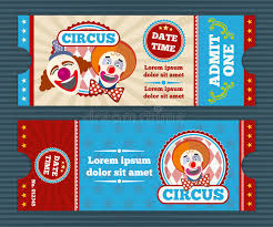 wedding invitation clown birthday greeting card vector show clowns circus ticket vector template stock vector illustration of access
