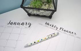 printable january 2016 weekly planner freckled elle free printable 2016 calendars