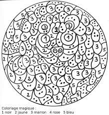 coloriage magique ajouter 9