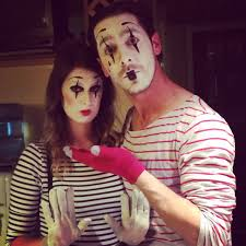 beauty by birdy cheap last minute halloween costume mime