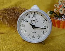 t harger horloge de bureau vintage réveil allemand mercedes collectionneur