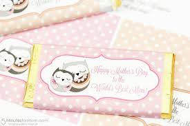mother u0027s day candy bar wrapper free printable