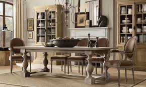 Dining Room Furniture Styles French Chairs W Rustic 17th Century Style Dining Table For The