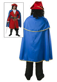 halloween costume with cape captain blackheart cape