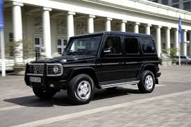 mercedes jeep black mercedes benz g guard