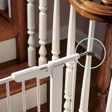 Best Stair Gate For Banisters Best 25 Retractable Stair Gate Ideas On Pinterest Retractable